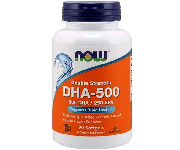Now Foods DHA-500 Double Strength 90 Softgels