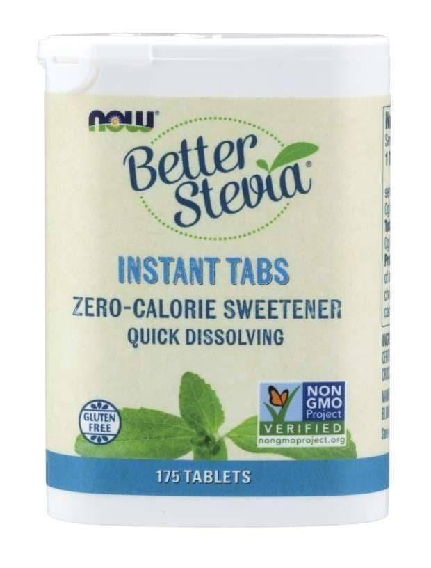 Now Foods Better Stevia Instant Tabs 0 Calorie Sweetener 175 Tablets