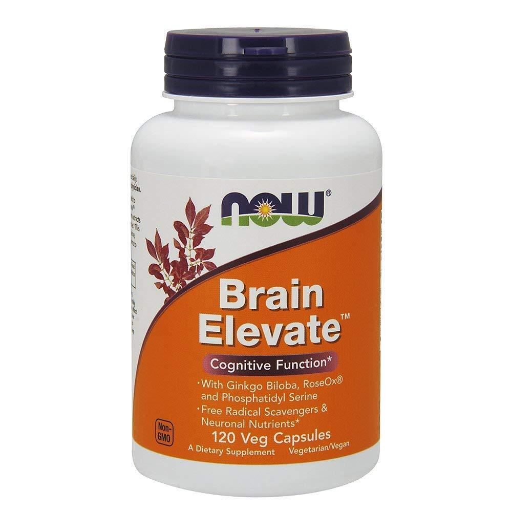 Now Foods Brain Elevate 120 Veg Caps
