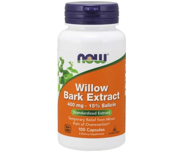 Now Foods Willow Bark Extract 400mg 100 Caps