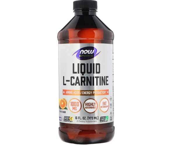 Now Foods Liquid L-Carnitine 1000mg 473ml