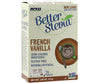 Now Foods Better Stevia French Vanilla 0 Calorie Sweetener 75 Packets