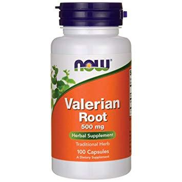 Now Foods Valerian Root 500mg 100 Veg Caps