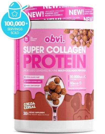 Obvi Super Collagen Protein Powder 372g