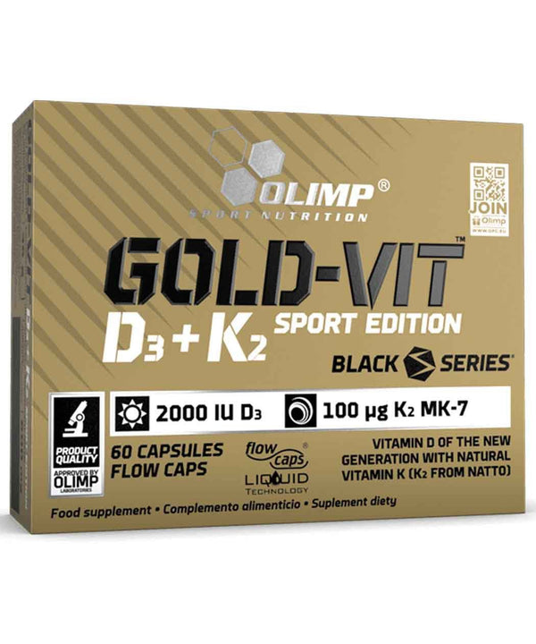 Olimp Sport Nutrition Gold Vit D3 + K2 Sport Edition 60 Caps
