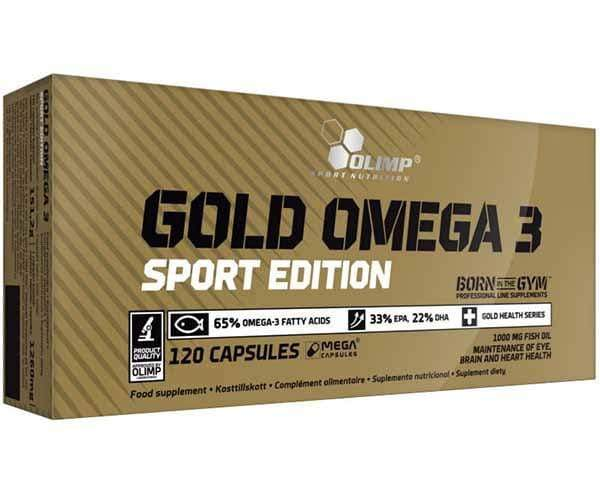 Olimp Sport Nutrition Gold Omega 3 Sport Edition 120 Caps