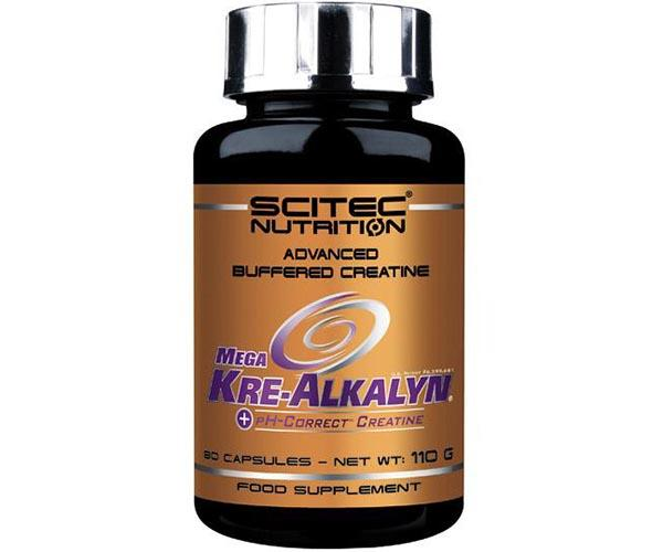 Scitec Nutrition Mega Kre-Alkalyn 80 Caps