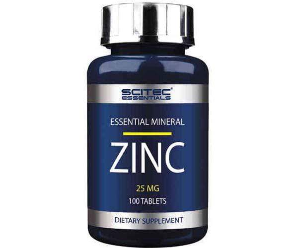 Scitec Nutrition Zinc 25mg 100 Tablets