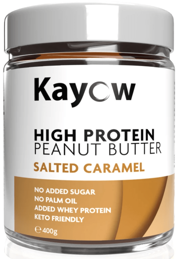 Kayow Nutrition High Protein Peanut Butter Salted Caramel 400g