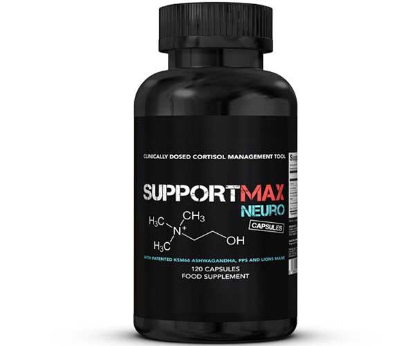 Strom Sports Nutrition SupportMAX Neuro 120 Caps