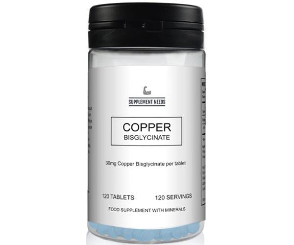 Supplement Needs Copper Bisglycinate