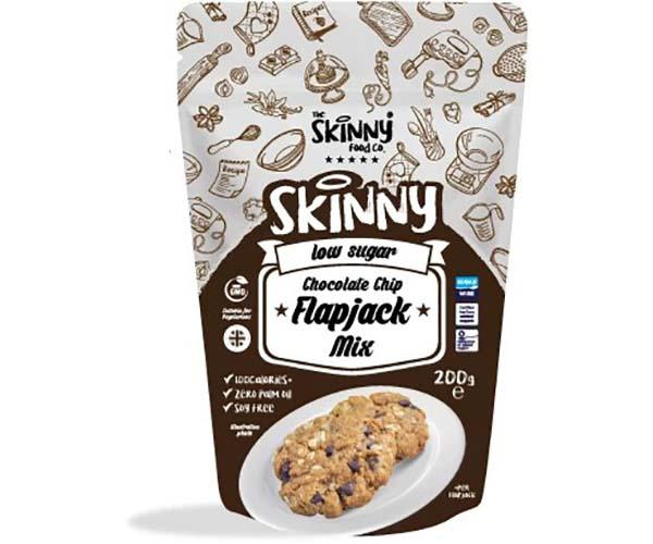 The Skinny Food Co Chocolate Chip Flapjack Mix 200g