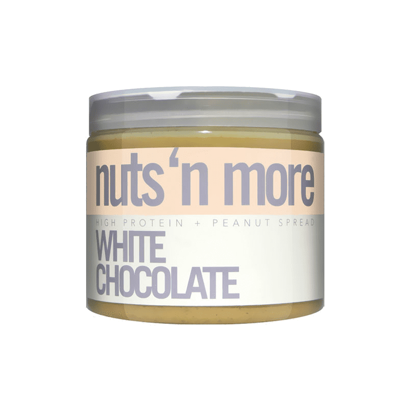 Nuts 'N More White Chocolate Peanut Butter 454g