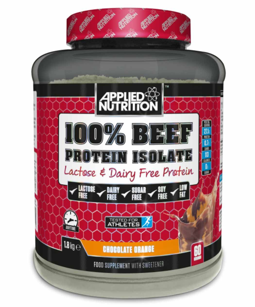 Applied Nutrition 100% Beef Protein Isolate 1.8kg