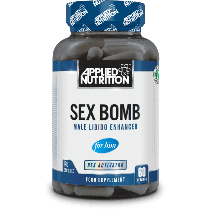 Applied Nutrition Sex Bomb For Him - 120 Capsules