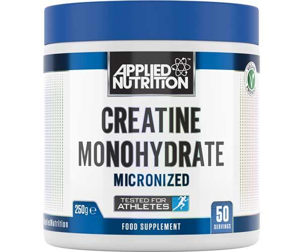 Applied Nutrition's Creatine Monohydrate 250g