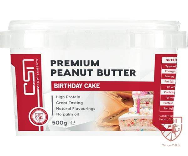 CSN Supplements Premium Peanut Butter Birthday Cake 500g