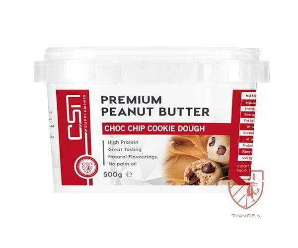 CSN Supplements Premium Peanut Butter Choc Chip Cookie Dough 500g