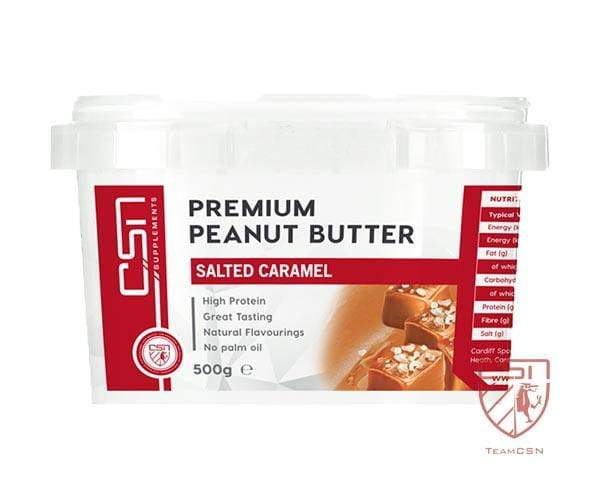 CSN Supplements Premium Peanut Butter Salted Caramel 500g
