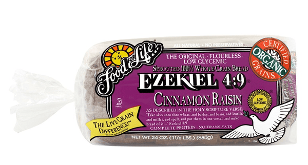 Ezekiel 4:9 Cinnamon Raisin Sprouted Whole Grain Bread 680g