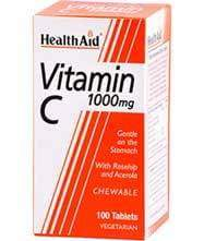 HealthAid Vitamin C 1000mg 100 tablets