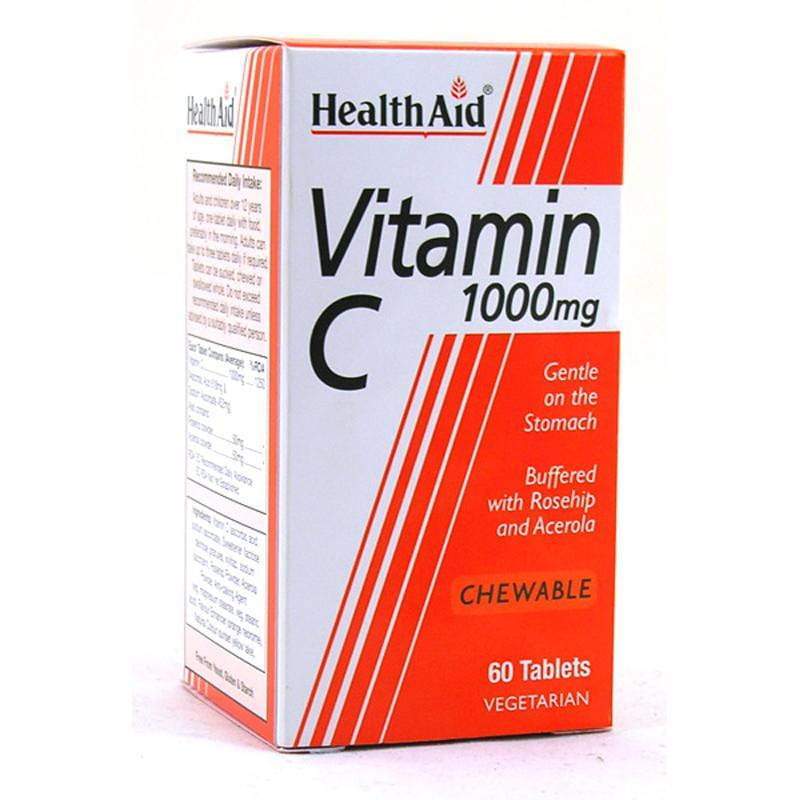 HealthAid Vitamin C 1000mg 60 tablets