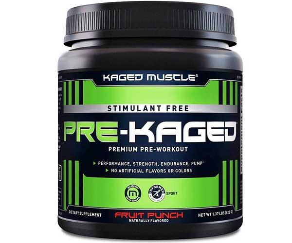 Kaged Muscle Pre Kaged Non Stim 622g