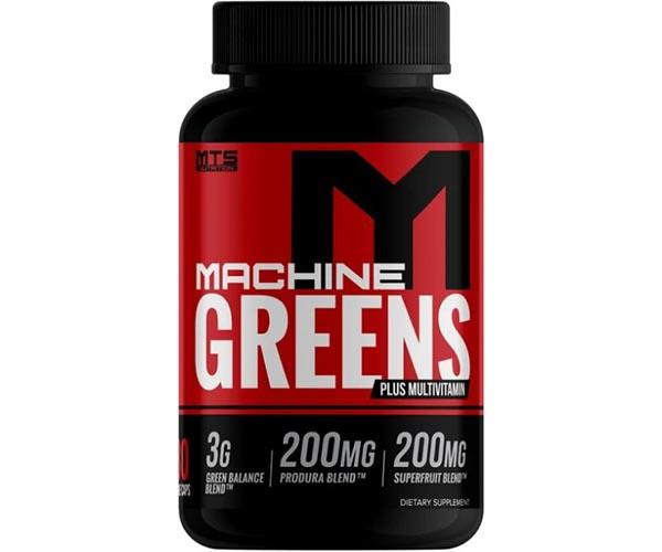 MTS Nutrition Machine Greens + Multivitamin 180 Veggie Caps