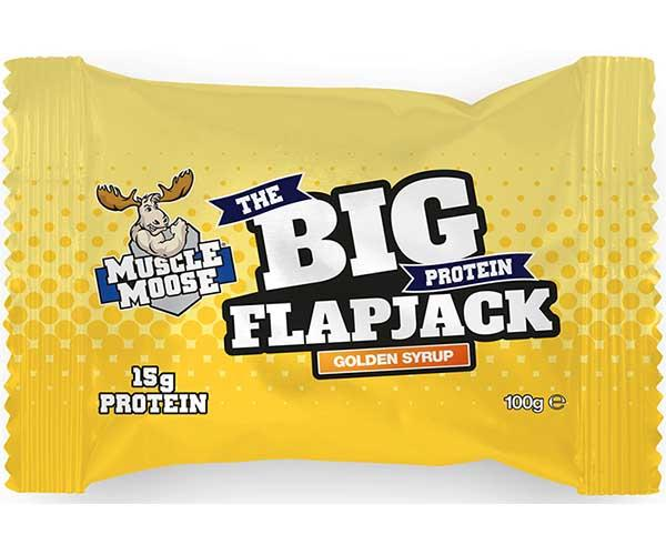 Muscle Moose The Big Protein Flapjack