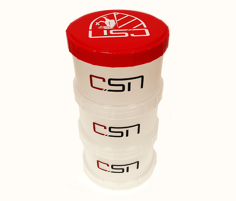 CSN 3 Compartment Protein Tower