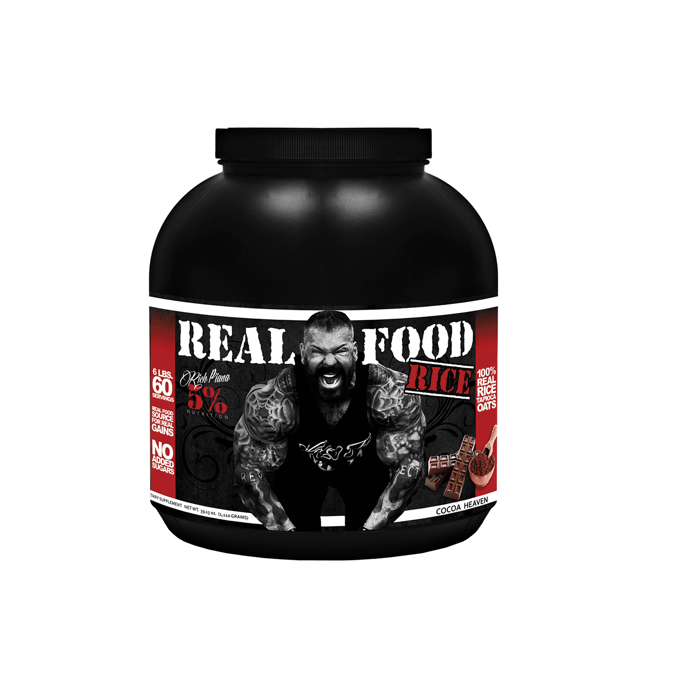 Rich Piana 5% Nutrition Real Food Rice 60 servings