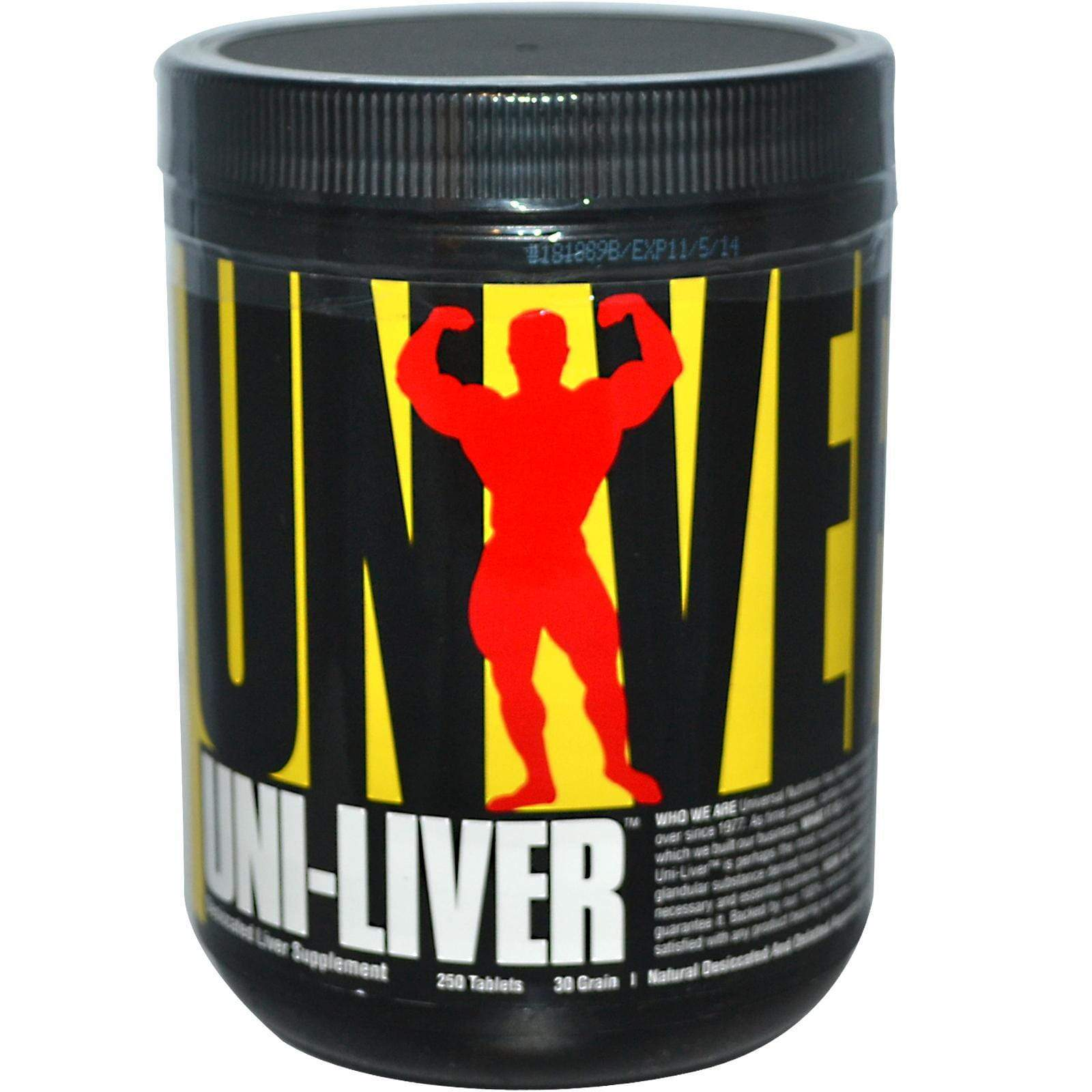 Universal Nutrition Uni-Liver 250tabs