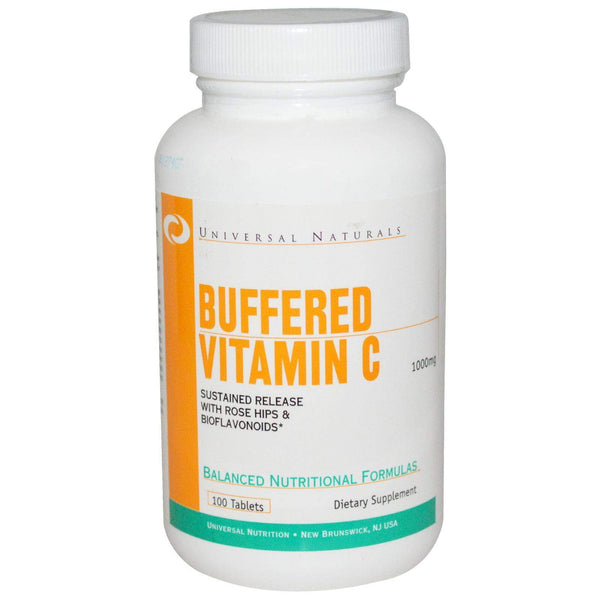 Universal Nutrition Buffered Vitamin C 100tabs