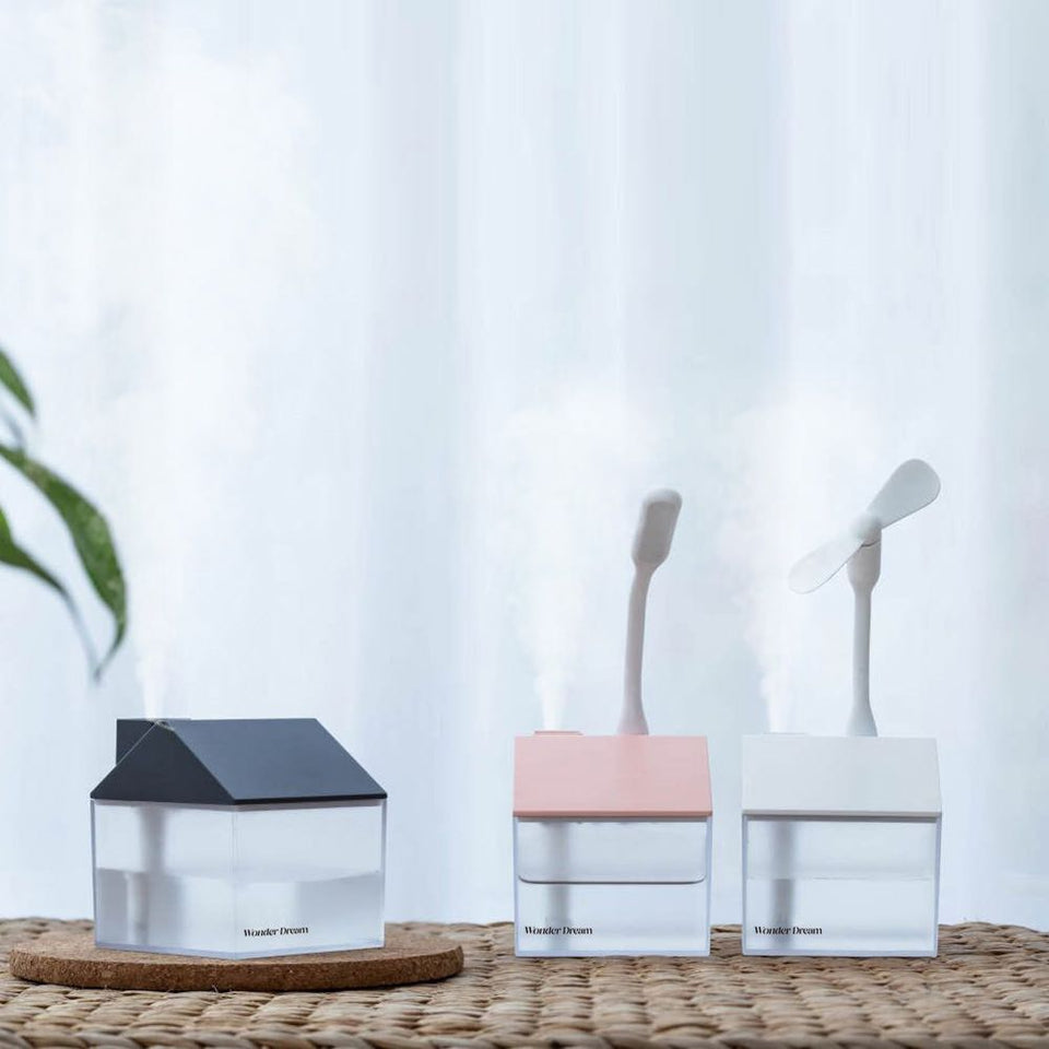 WONDERDREAM™ Nano-Atomization House Diffuser (FREE Light & Fan Included - Limited Time Only)