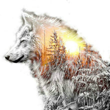 Load image into Gallery viewer, Diamond Painting - Wolf - erfolgslounge24