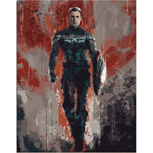 Load image into Gallery viewer, Malen nach Zahlen - Captain America - erfolgslounge24