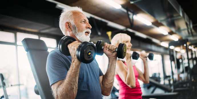 What are the benefits of exercising for older adults?