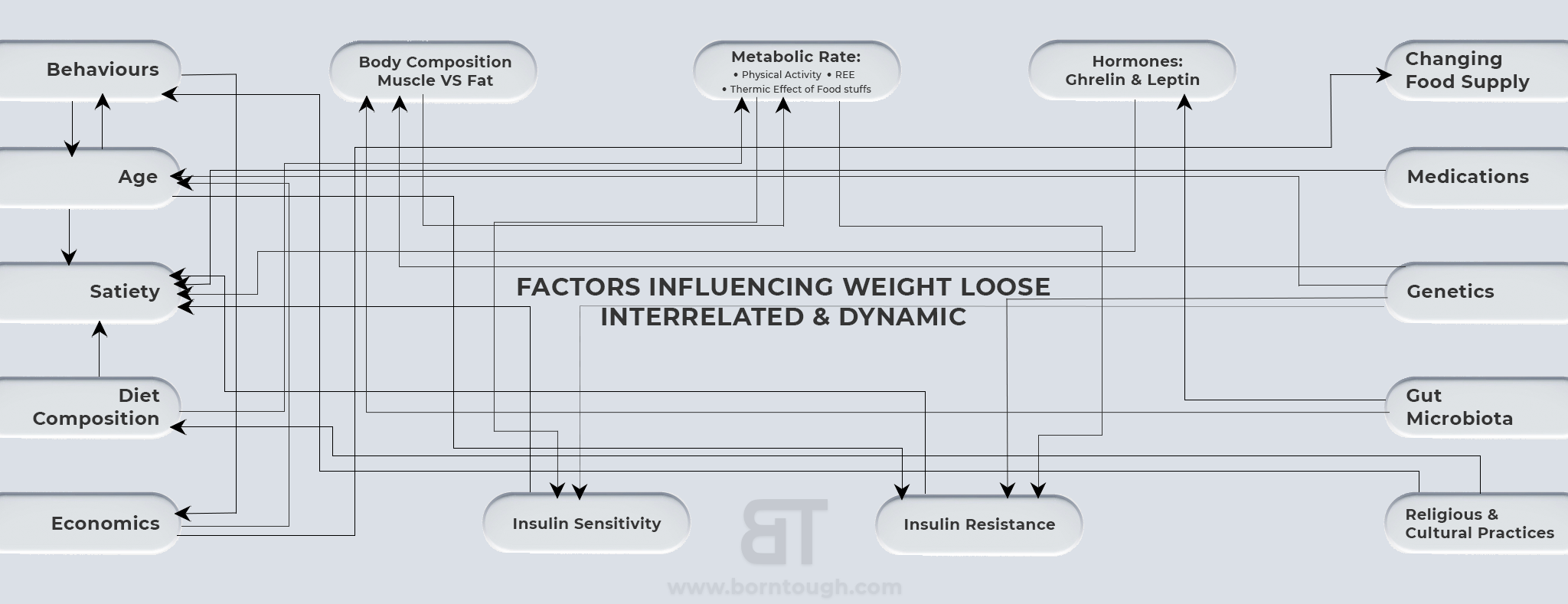 Factors That Influence Weight Loss