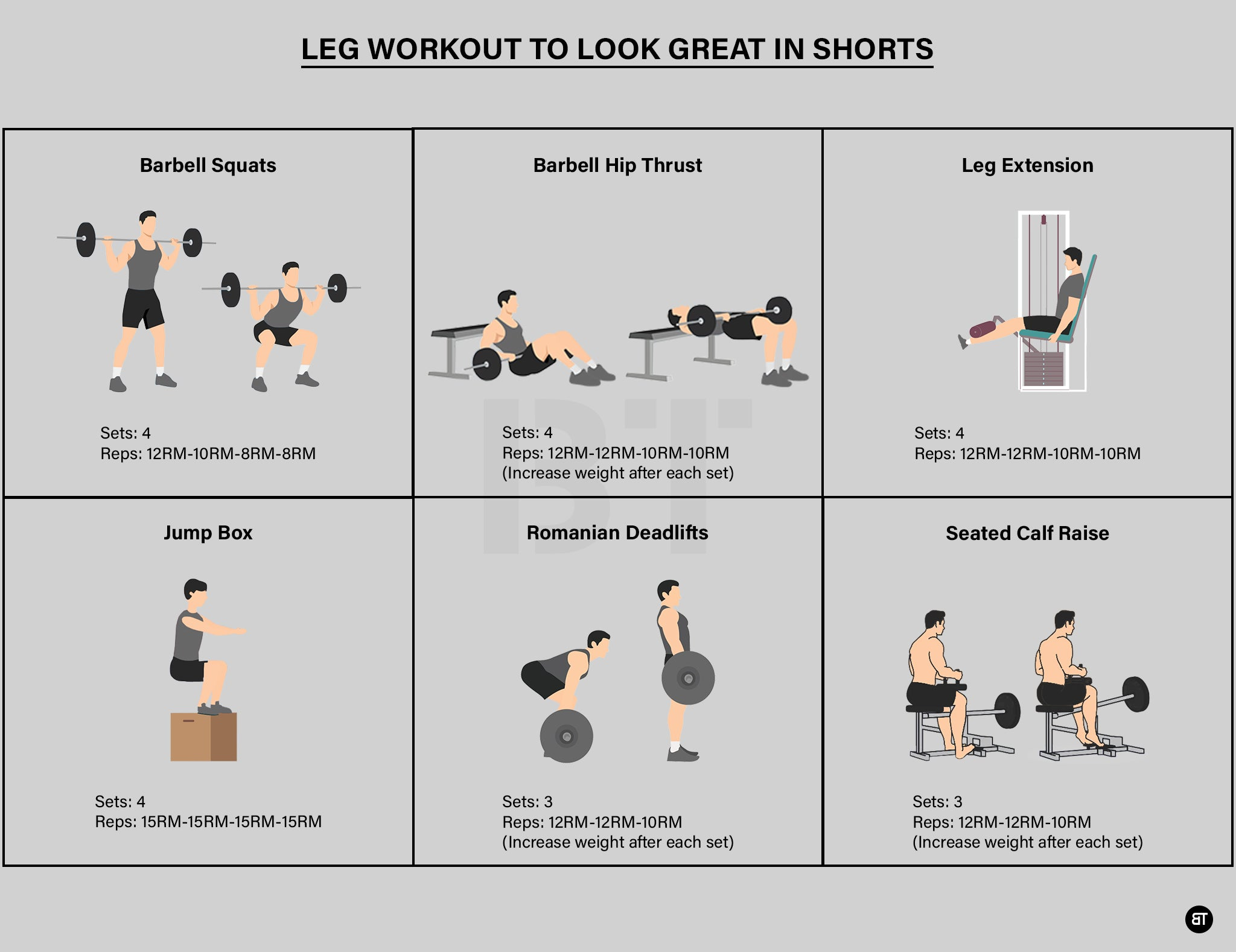 Leg Workout to Look Great in shorts