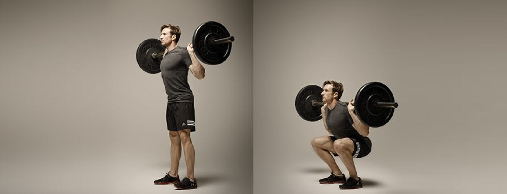 squats with bar