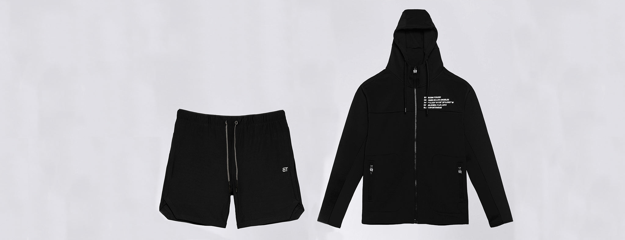 Workout Shorts and Hoodies