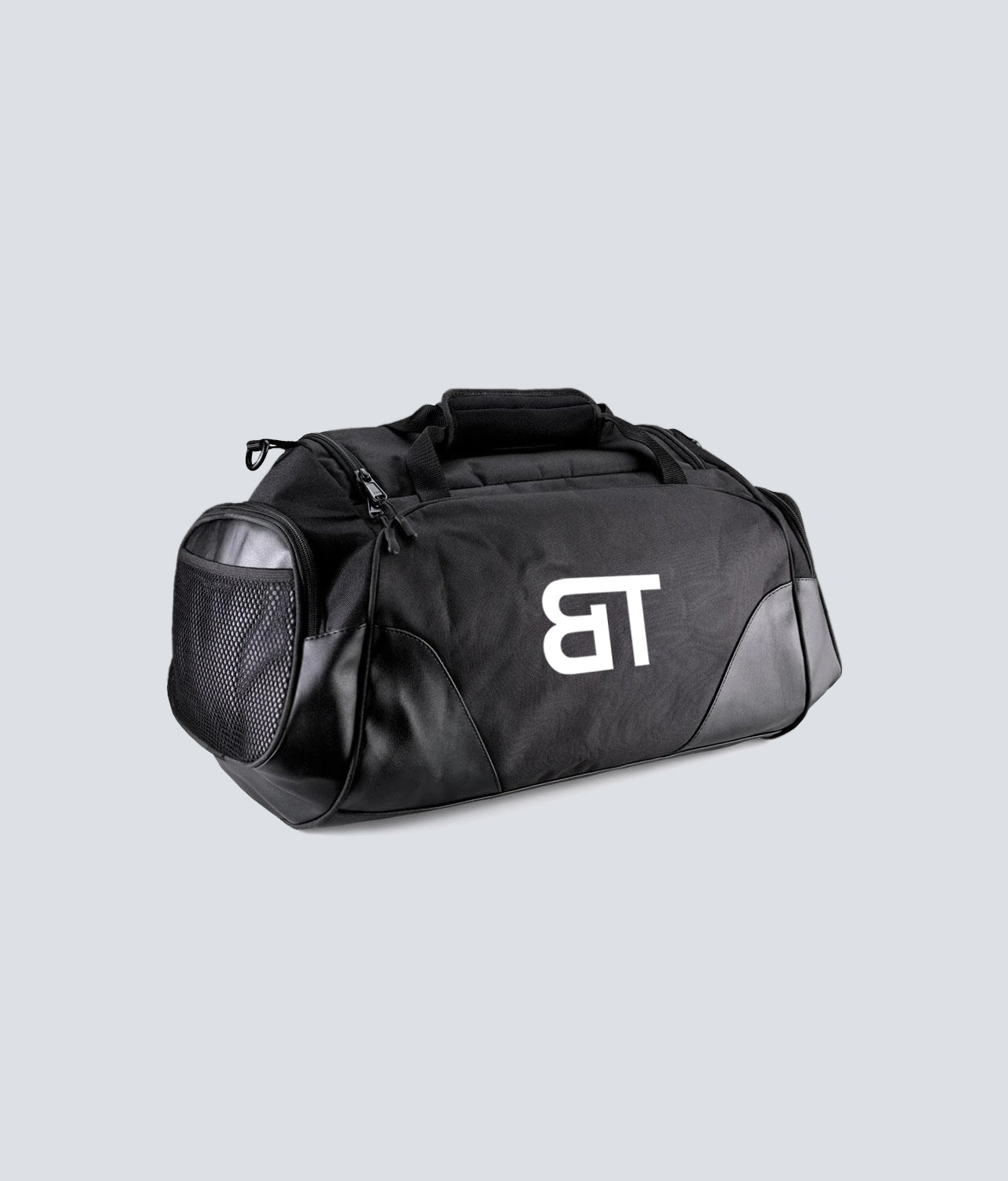 Born Tough Adjustable Shoulder Strap Black Gym Workout Duffel Bag
