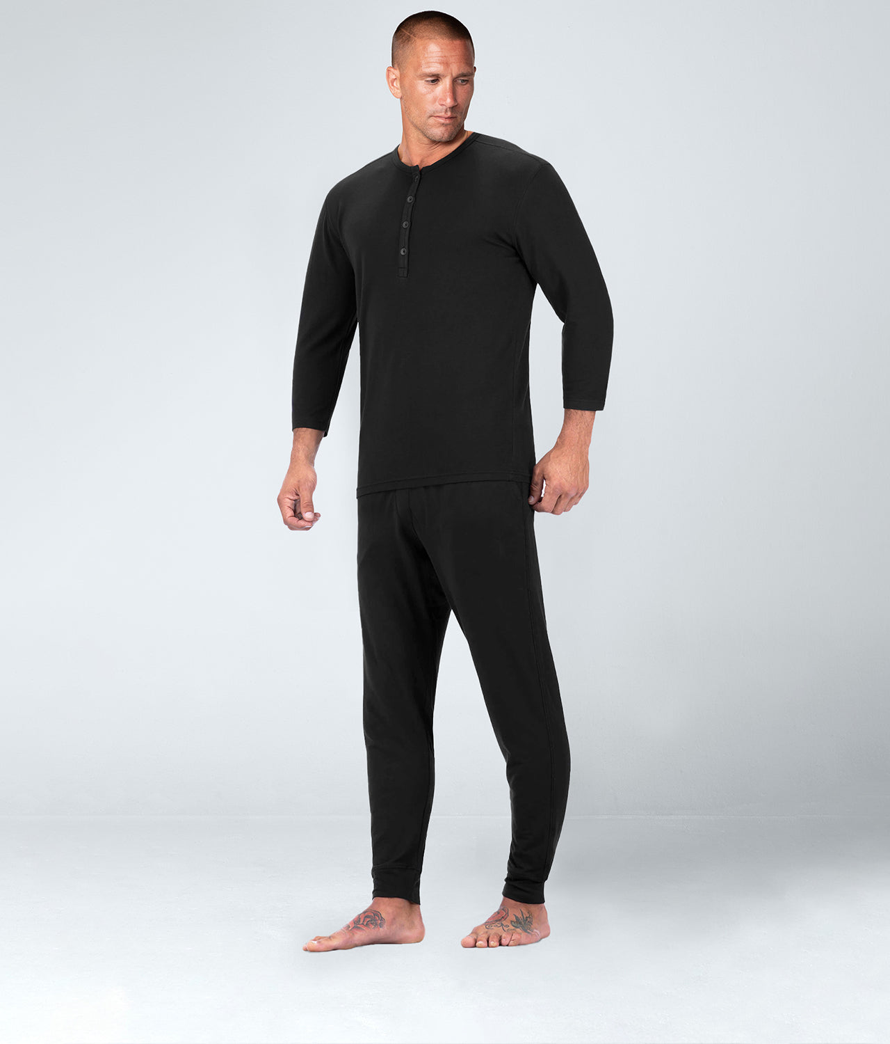 Born Tough Black Well-Rested Sleep Athlete Recovery Sleepwear for Men