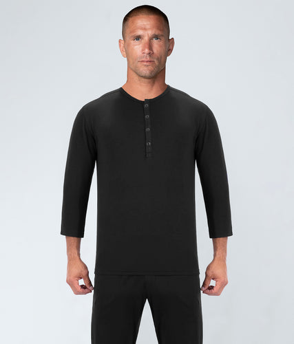 Born Tough Black Most Relaxing Athlete Recovery Sleepwear for Men