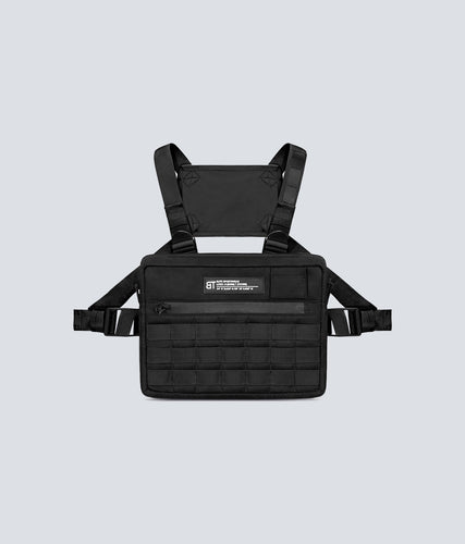 Born Tough Black Signature Blend Gym Workout Chest Rig Bag