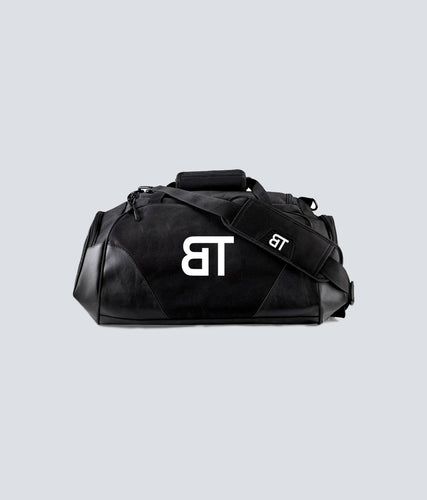 Born Tough Polyester 600D Fabric Black Gym Workout Duffel Bag