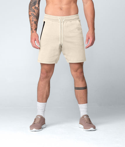 Born Tough Men Core Fit Shorts Stone