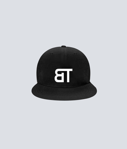 Born Tough Snapback Cap/Hat Black