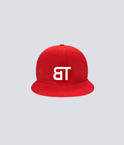 Born Tough Snapback Cap/Hat Red