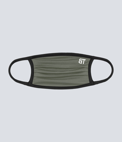 Born Tough Face Mask Military Green